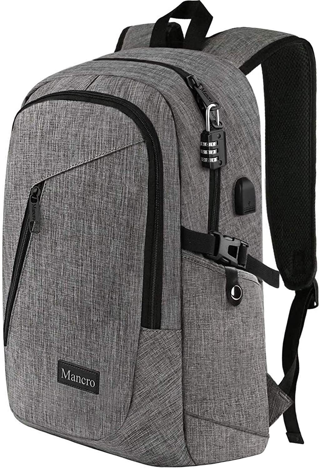 Mancro Slim Laptop Backpack
