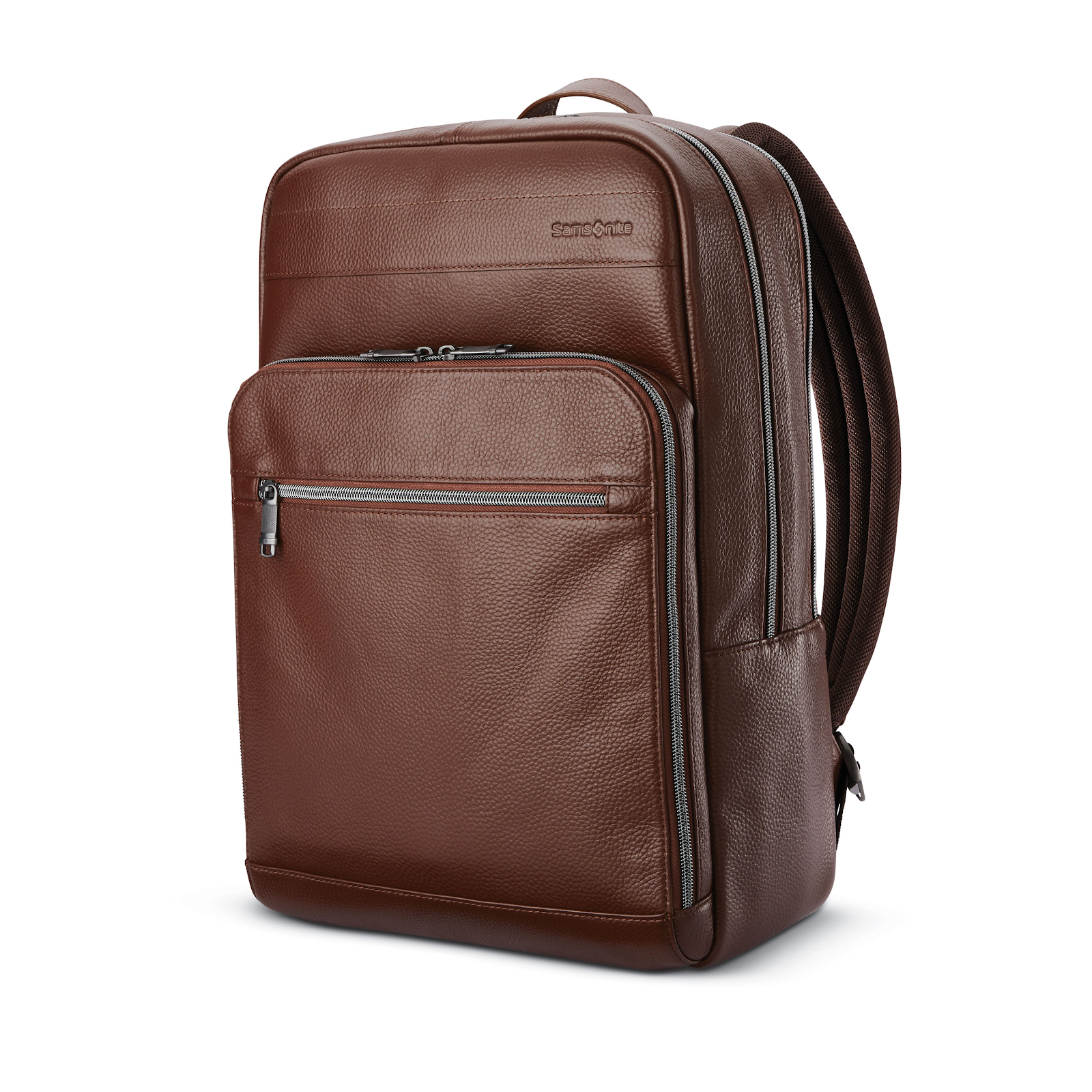 Samsonite Leather Slim Backpack