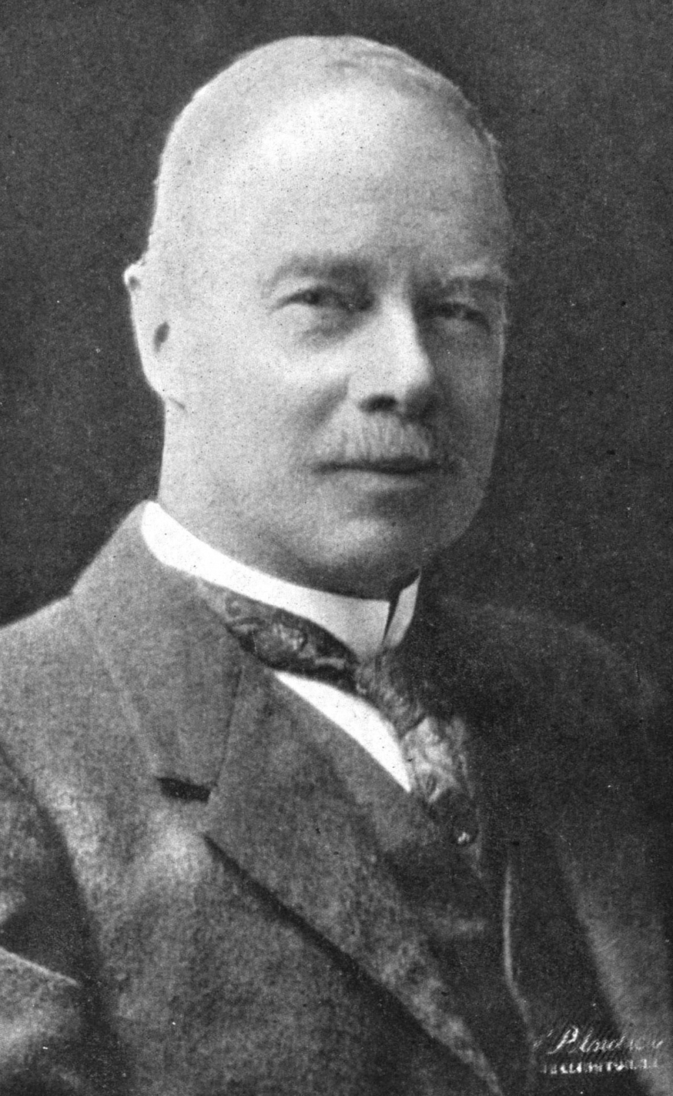 A portrait of George Hudson