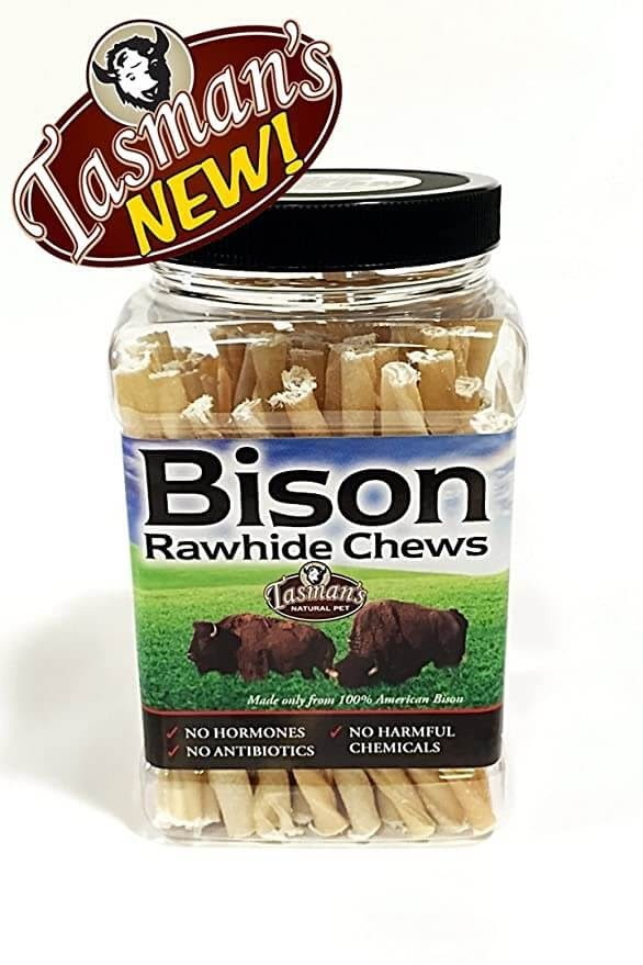 Tasman's NaturalPet Smell Bison Twists