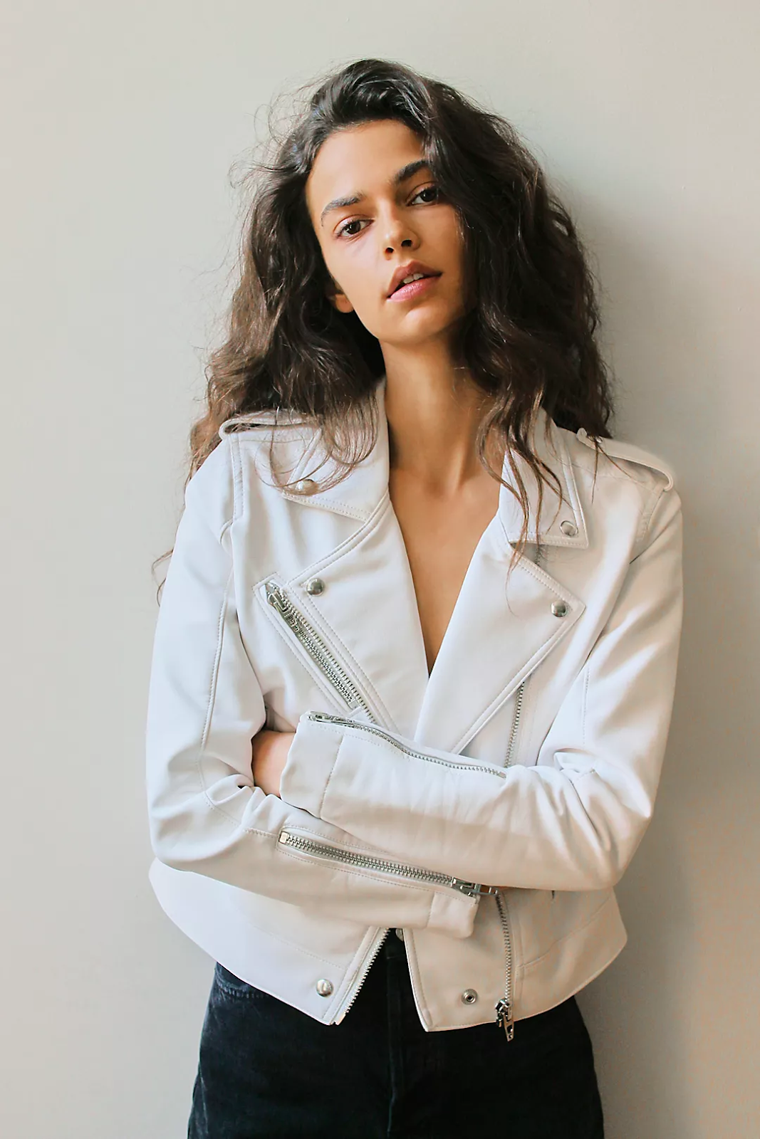 Vegan Leather Jacket from Free People