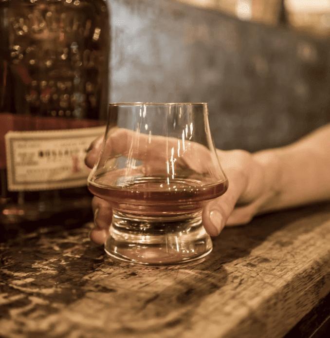 Dever & Liely Bourbon Glass