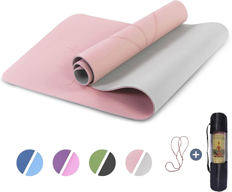 Pink Non-slip yoga mat