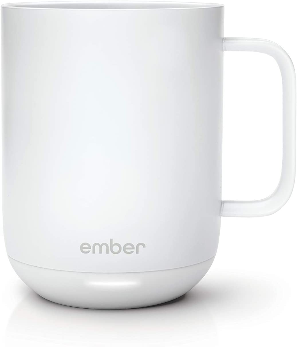 White Ember electric coffee mug