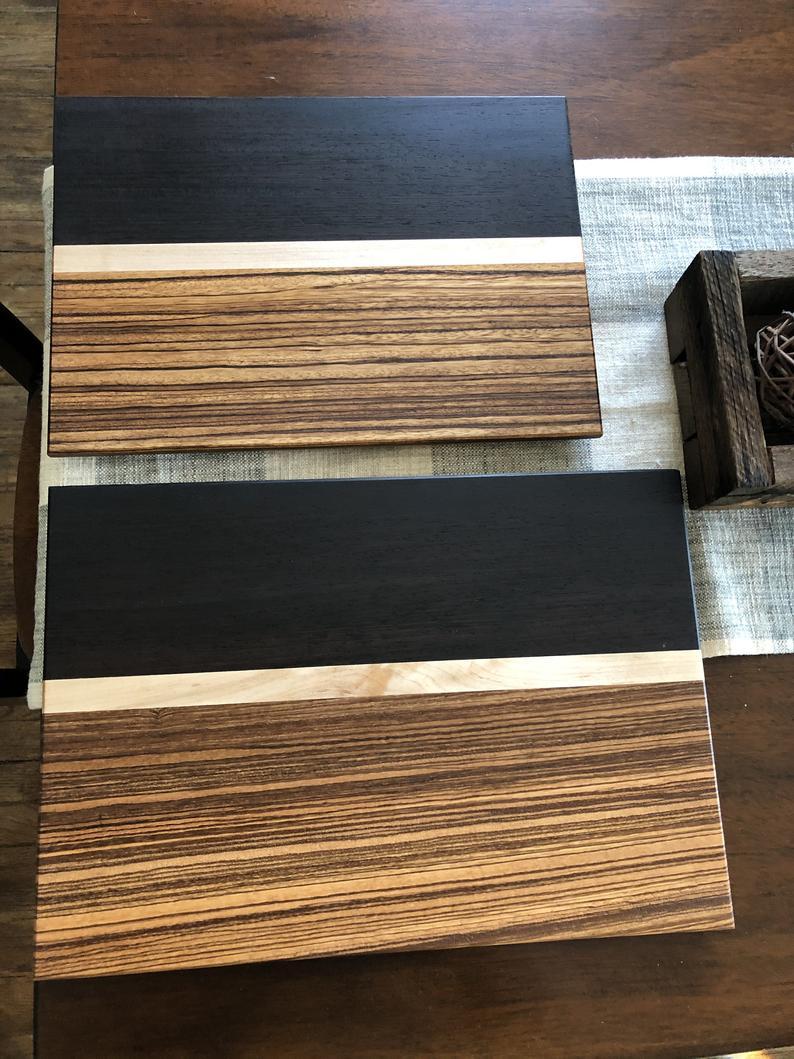 Nice, multi-toned cutting board