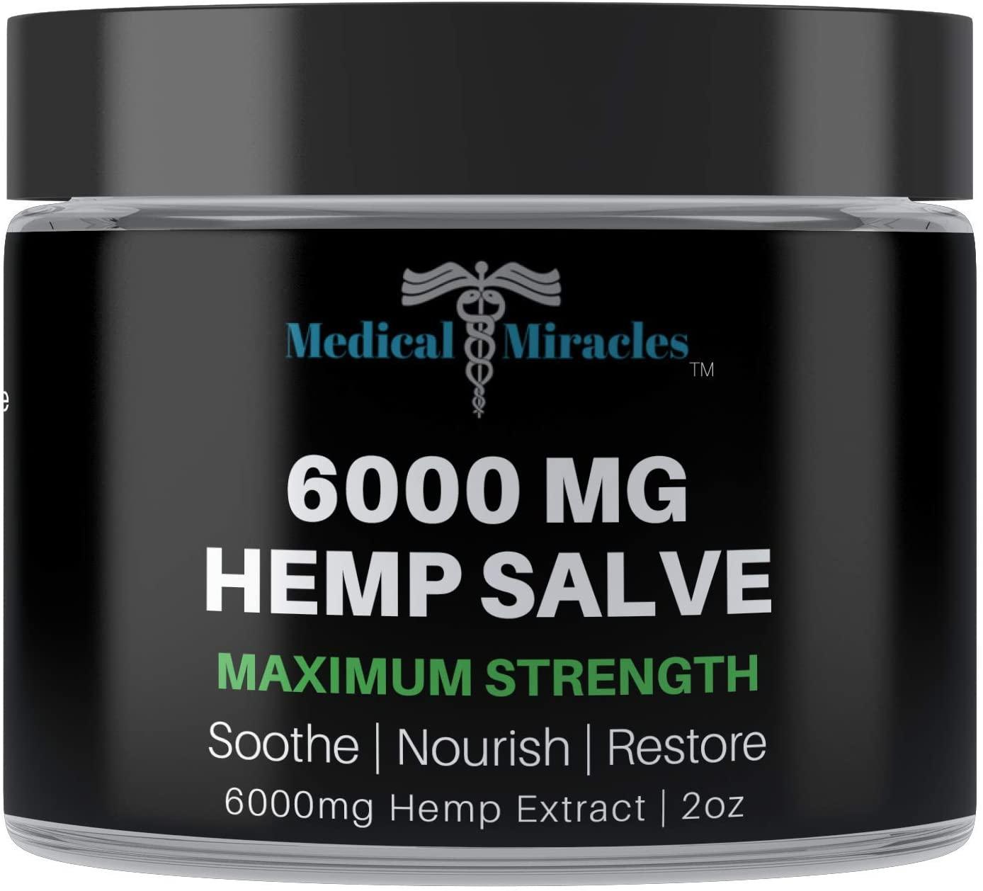 Medical Miracles 6000 MG Hemp Salve