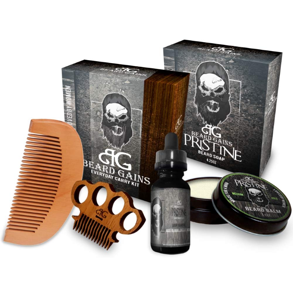 Beard Gains Beard Grooming Kit