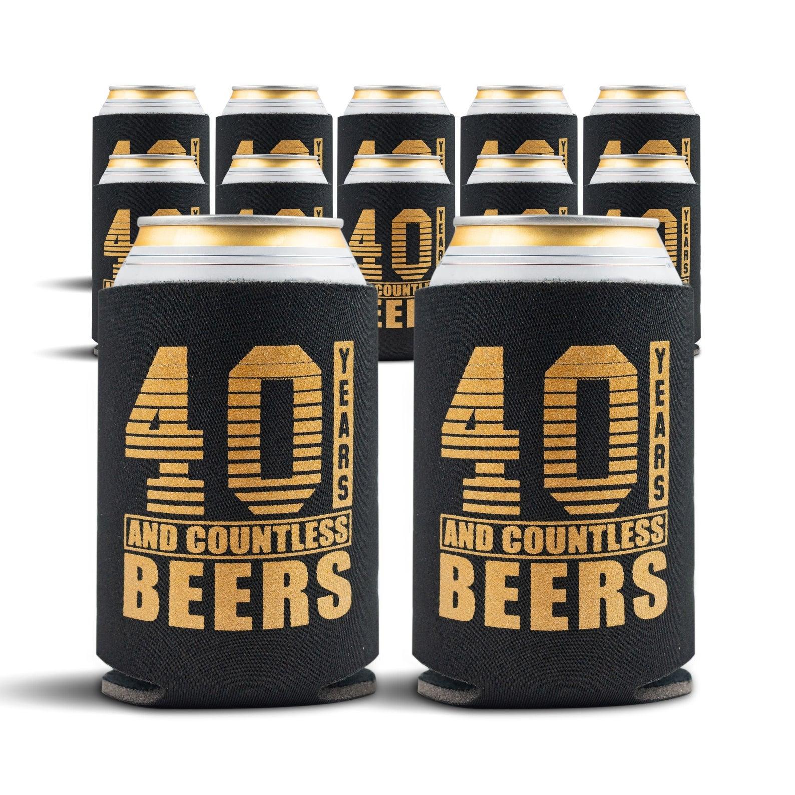 40 Beer Sleeves