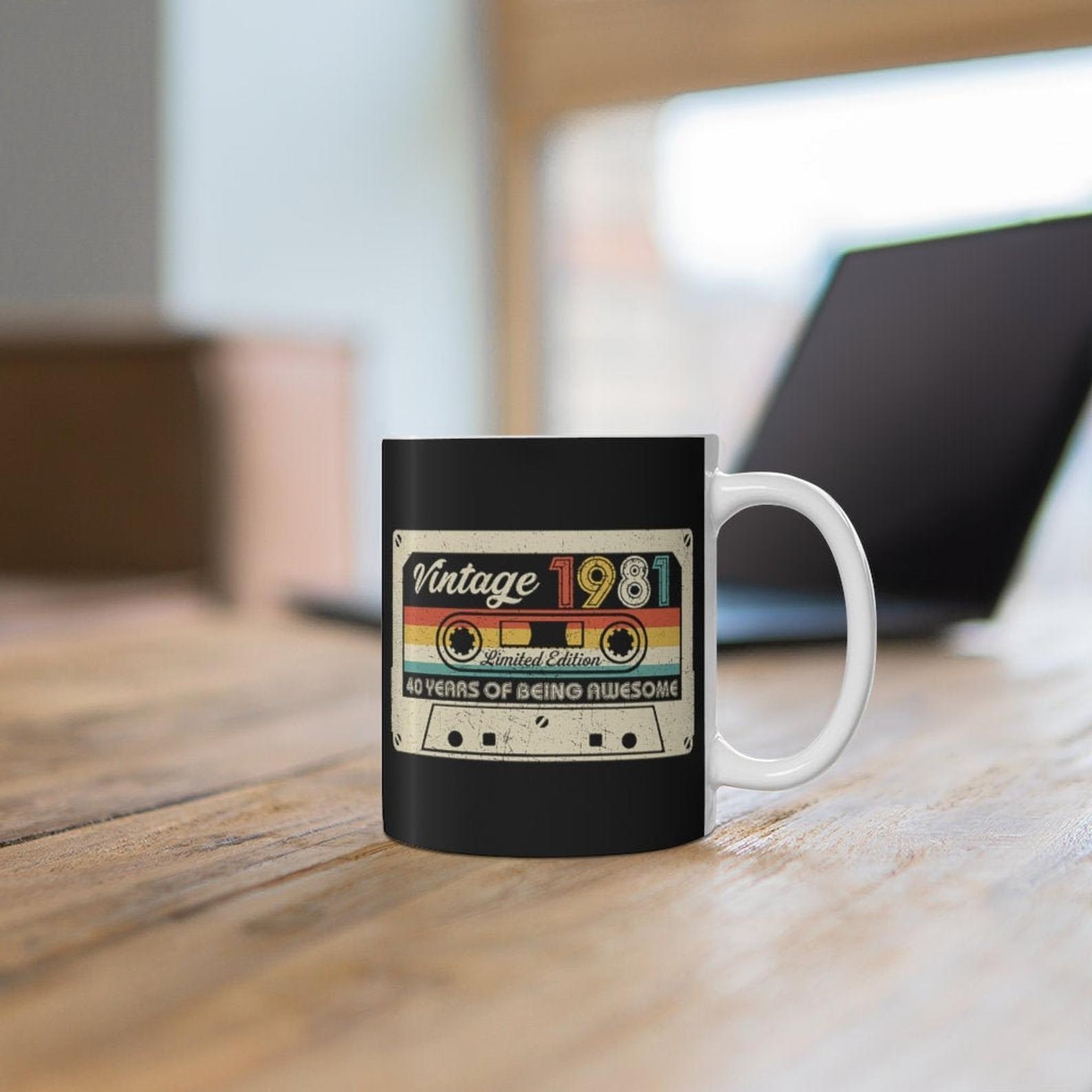 40 Birthday Mug