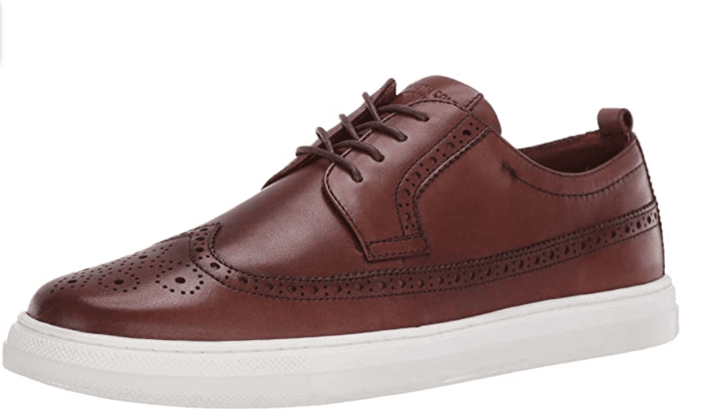 Classy leather sneakers for a 40 year old man