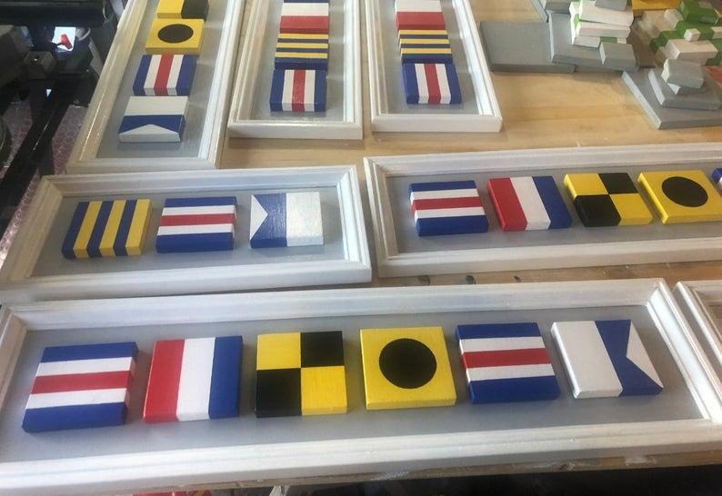 Nautical Signal Flag Signs