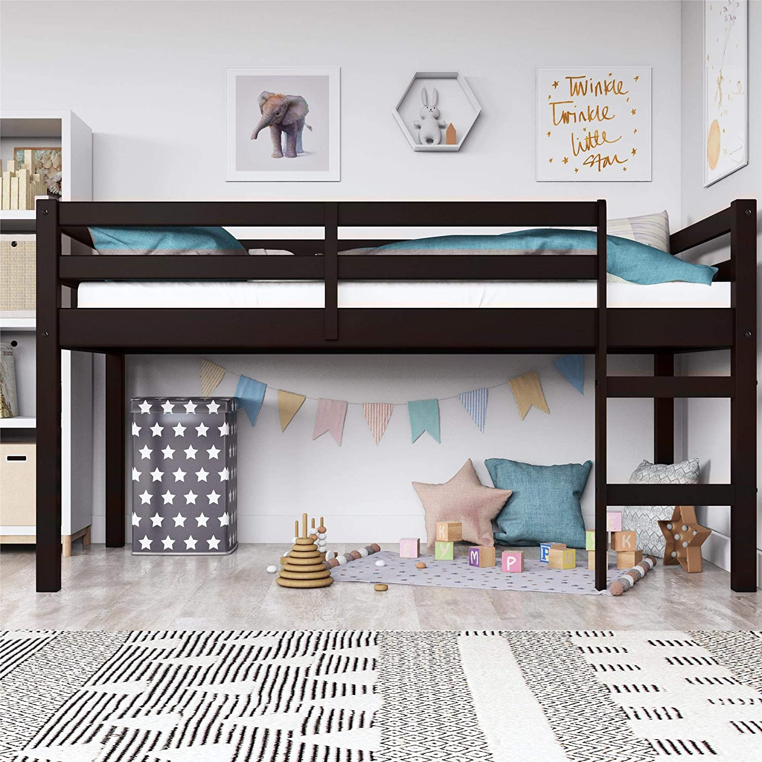 Dorel Living Milton Junior Loft Bed