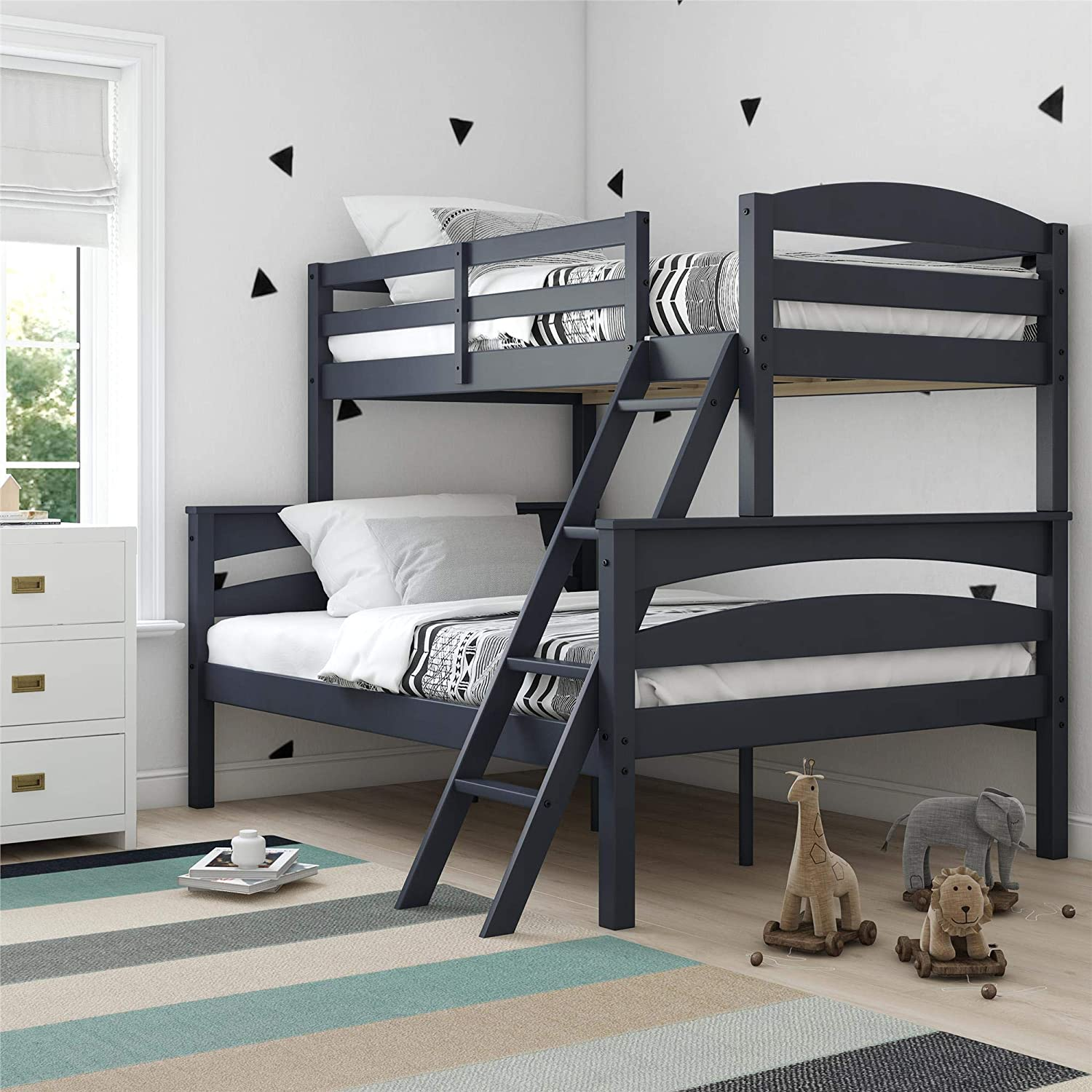Dorel Living Twin over Full Bunk Bed