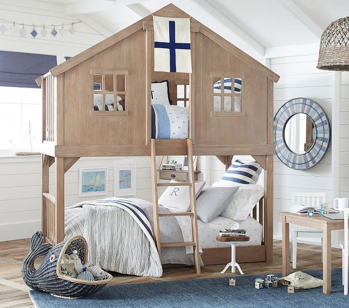 Pottery Barn Treehouse Twin Bunk