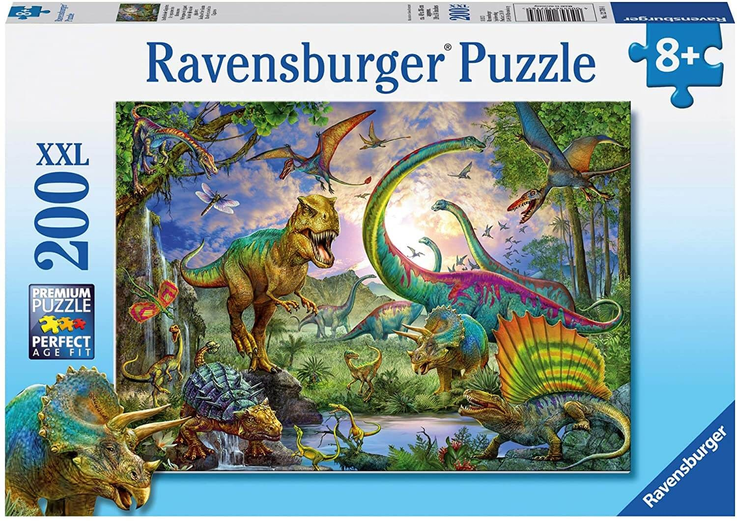 Realm of the Giants dinosaur puzzle