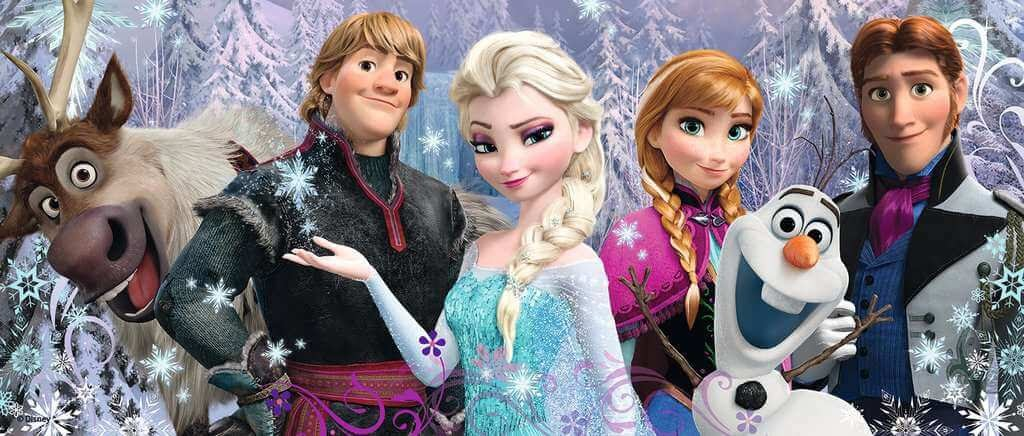 Frozen 1 character puzzle