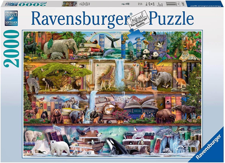 Aimee Stewart: Wild Kinom Shelves puzzle
