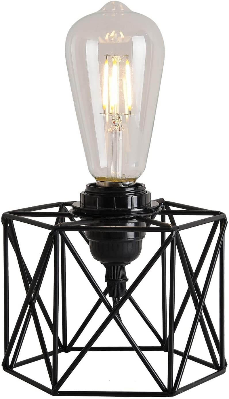 Geometric Cage Small Lamp