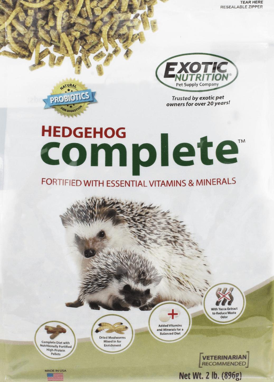Exotic Nutrition Hedgehog Complete Food