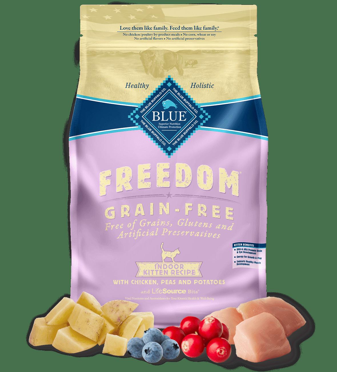 Blue Buffalo Grain Free Indoor Cat Food