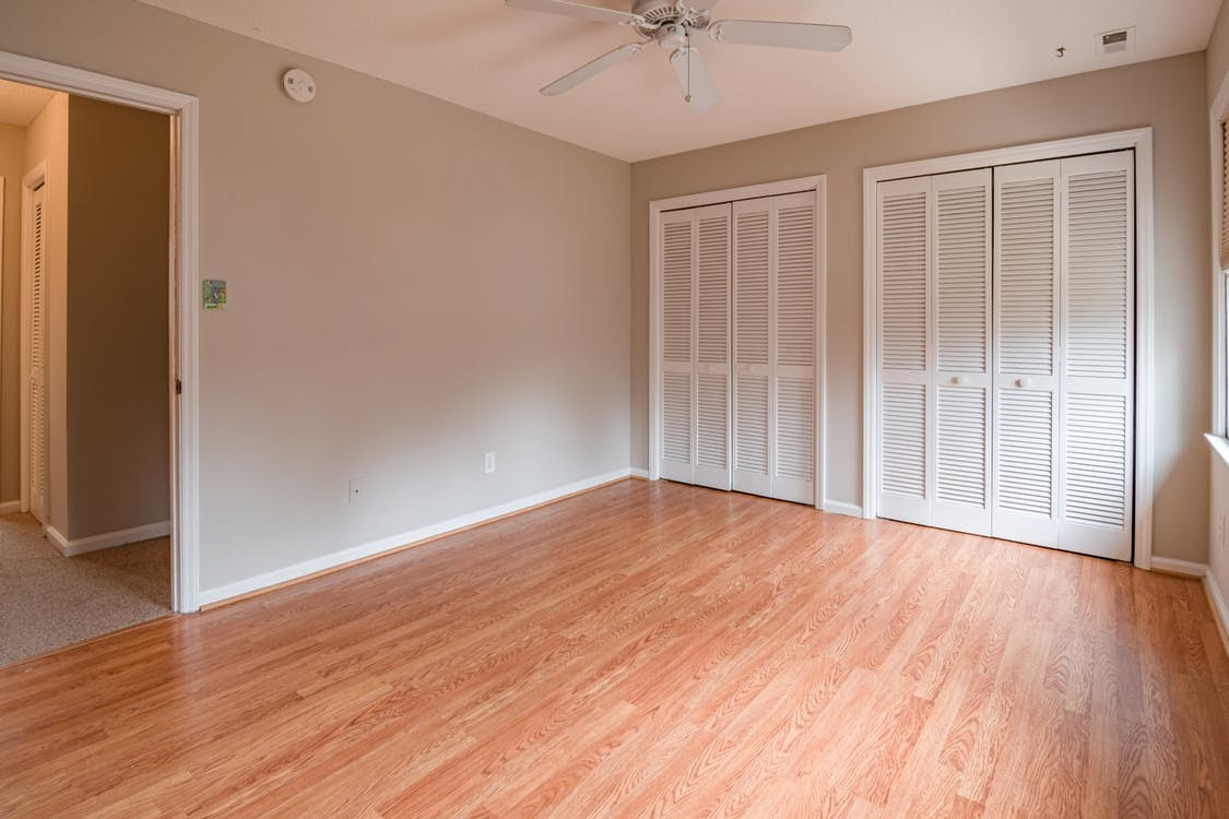 Blank canvas room with no furniture