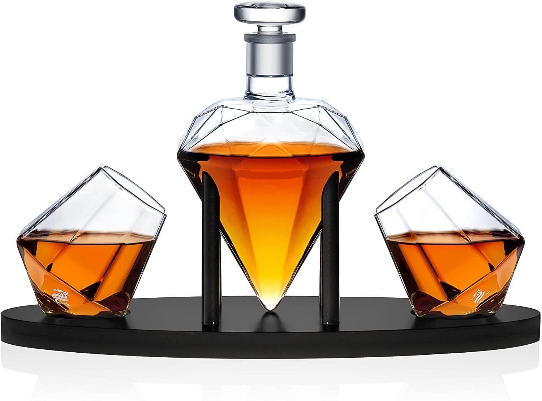 Dragon Glassware Diamond Whiskey Set