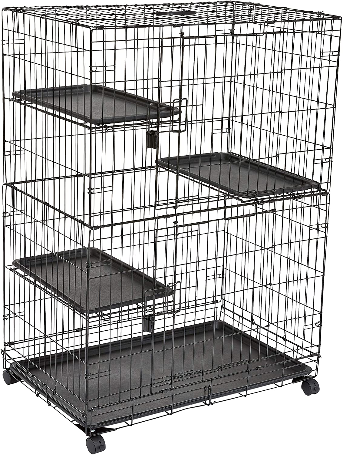 Amazon Basics 3-Tier Cat Cage
