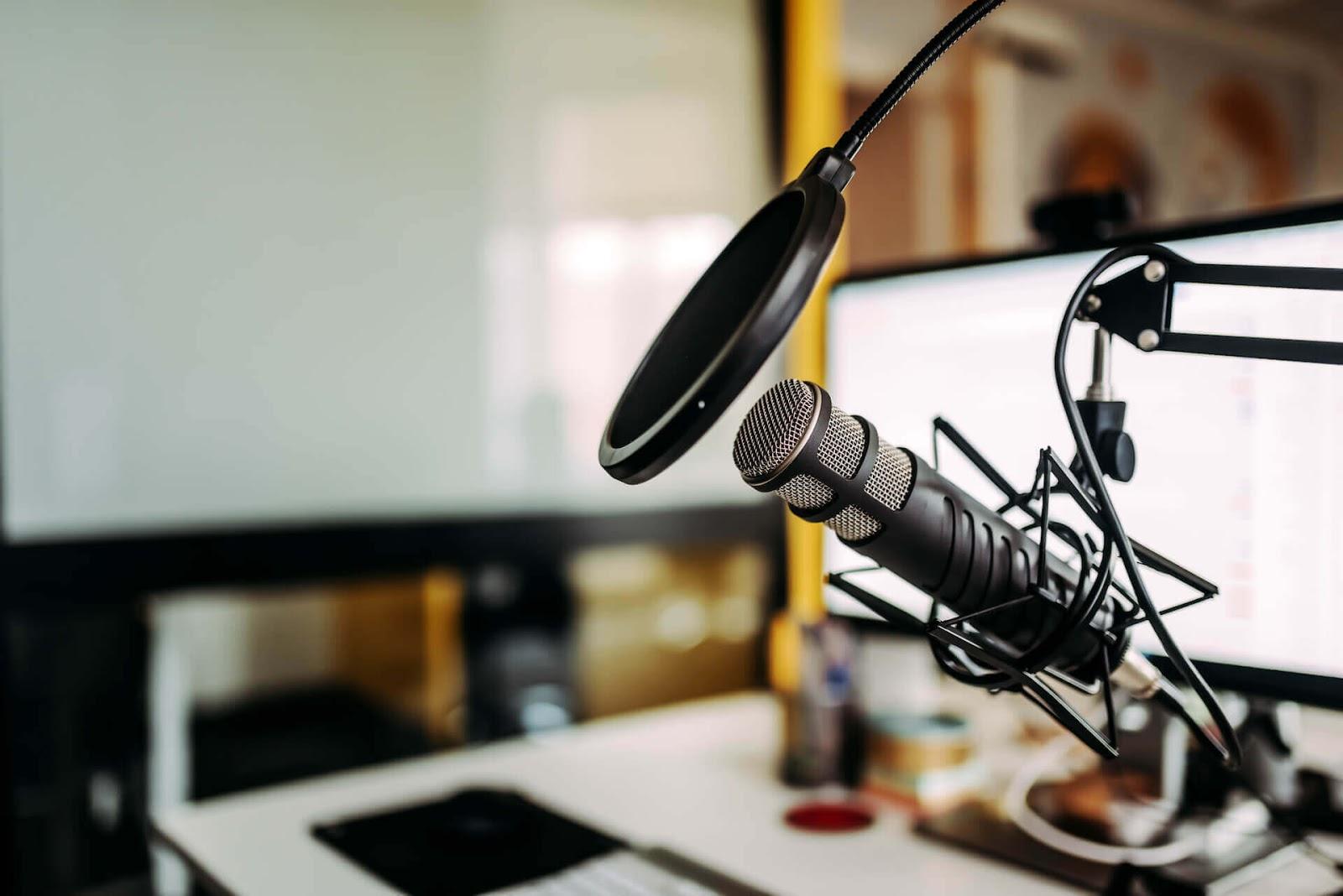 Podcast mirophone