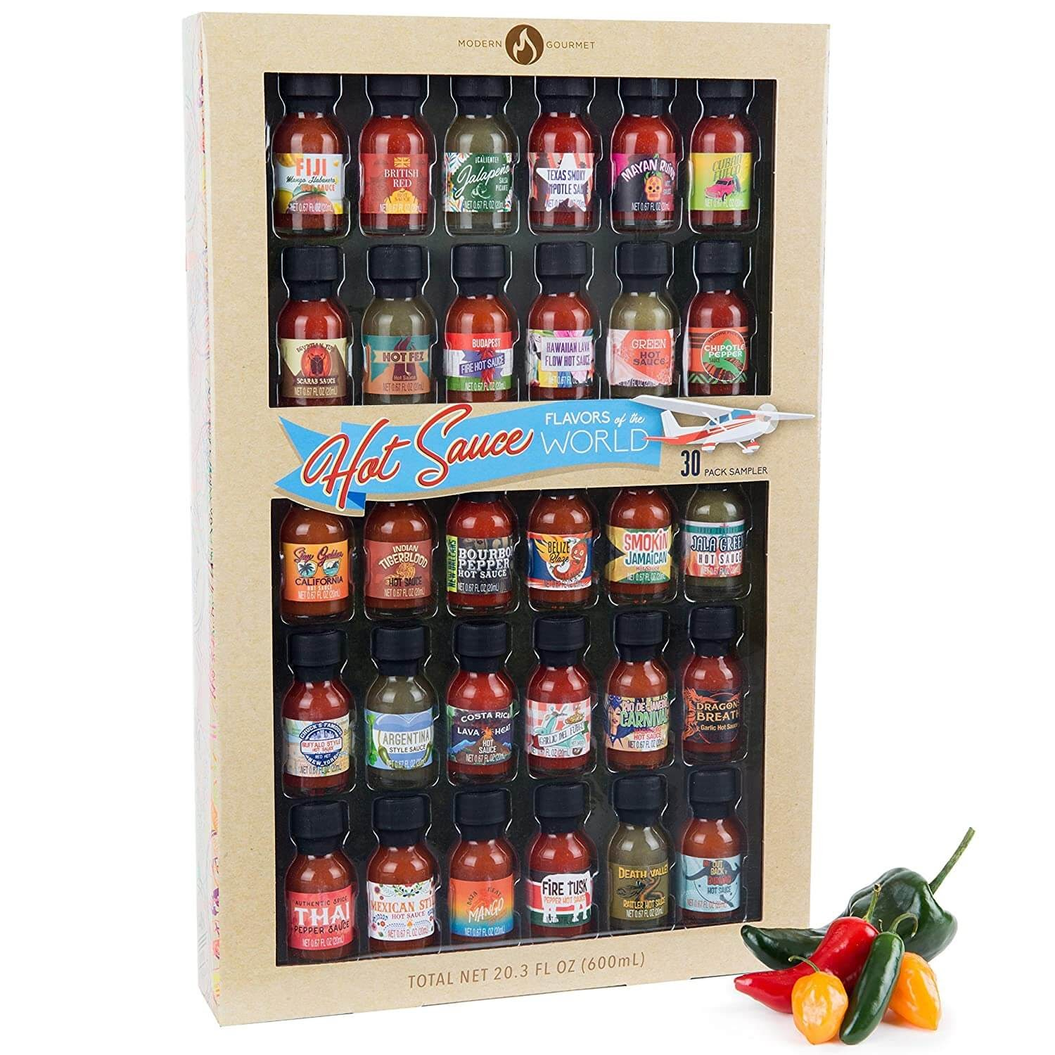 Hot Sauce Sampler Gift Set