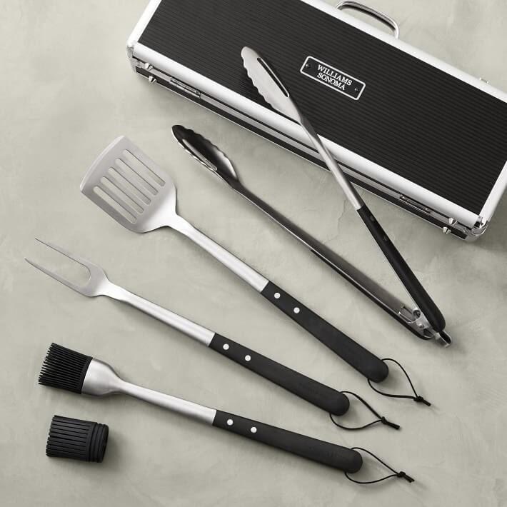 Williams Sonoma BBQ Grill Set
