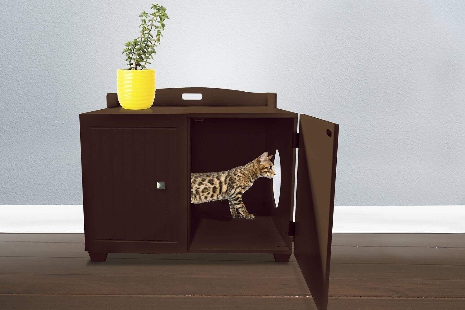 Tiger Tough Classic Bench Hidden Cat Litter Enclosure