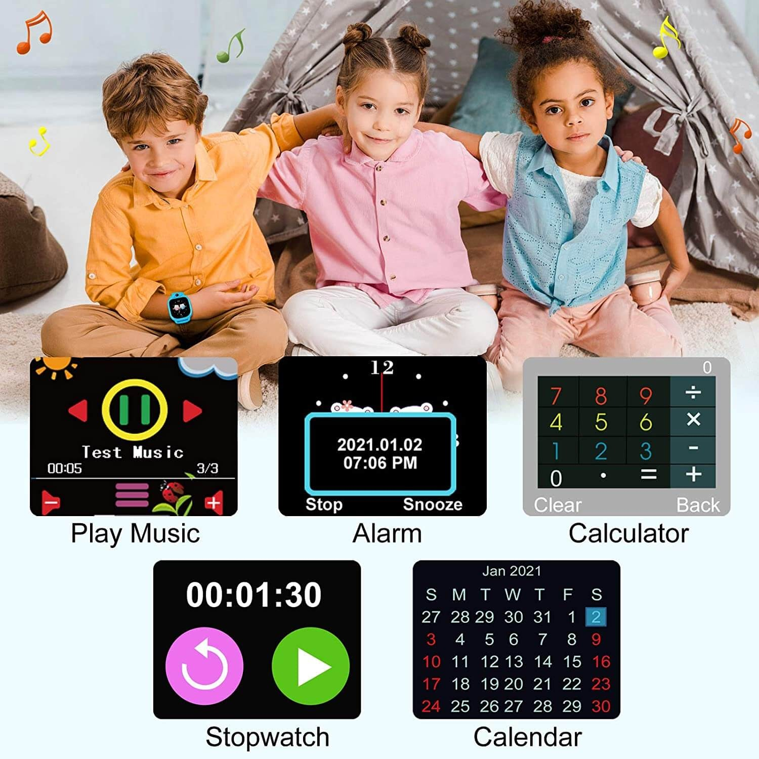 Prograce Kid Smartwatch