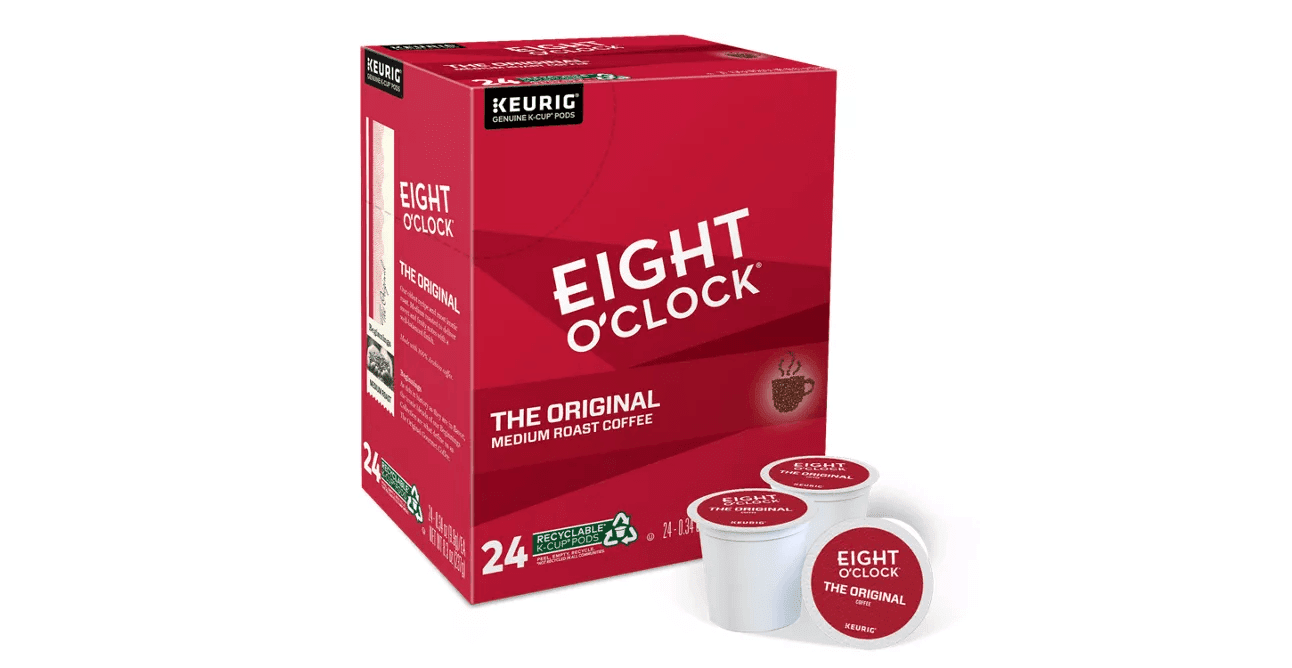 Eight O'Clock the original medium roast coffee
