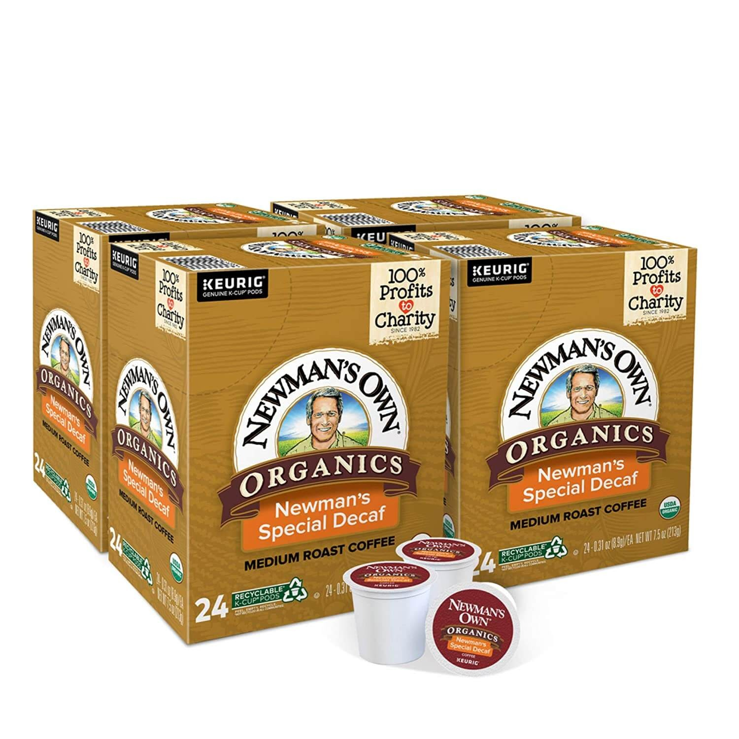 Newman's Own Organic decaf