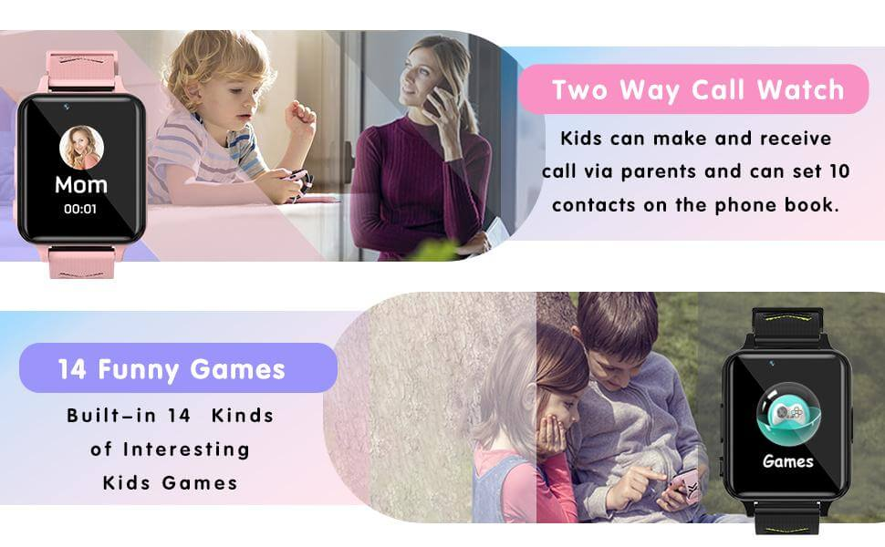 Buisan Kids Smartwatch