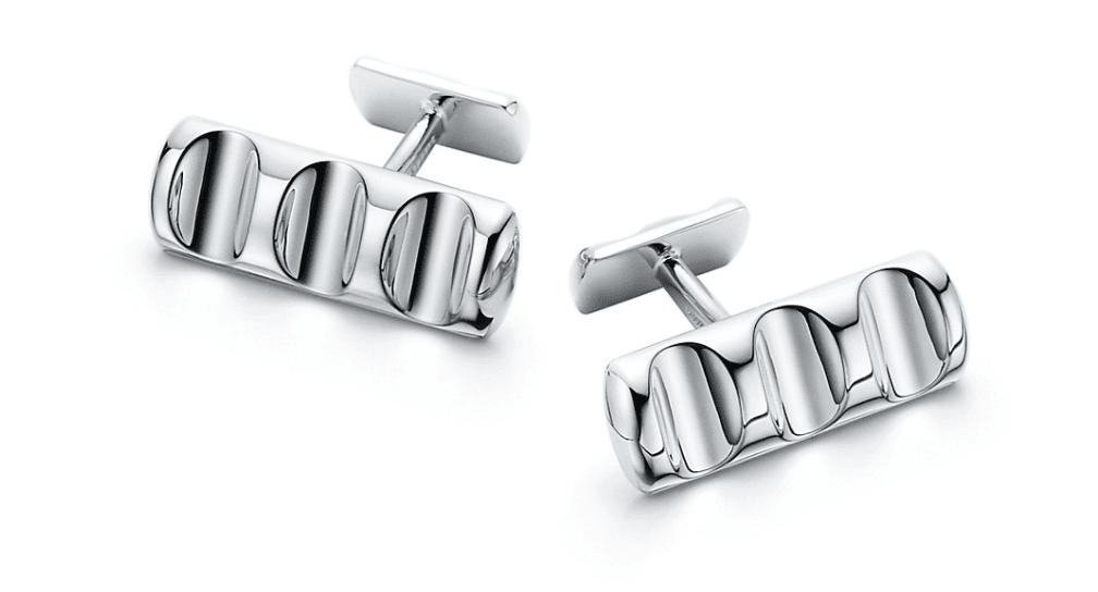 Tiffany & Co. Bar Cufflinks
