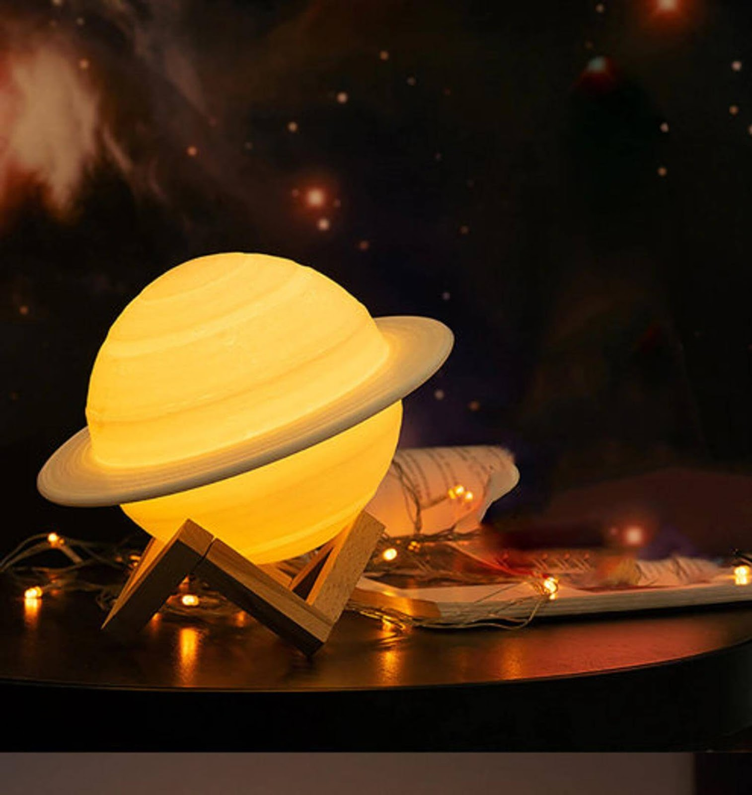 Saturn Night Light