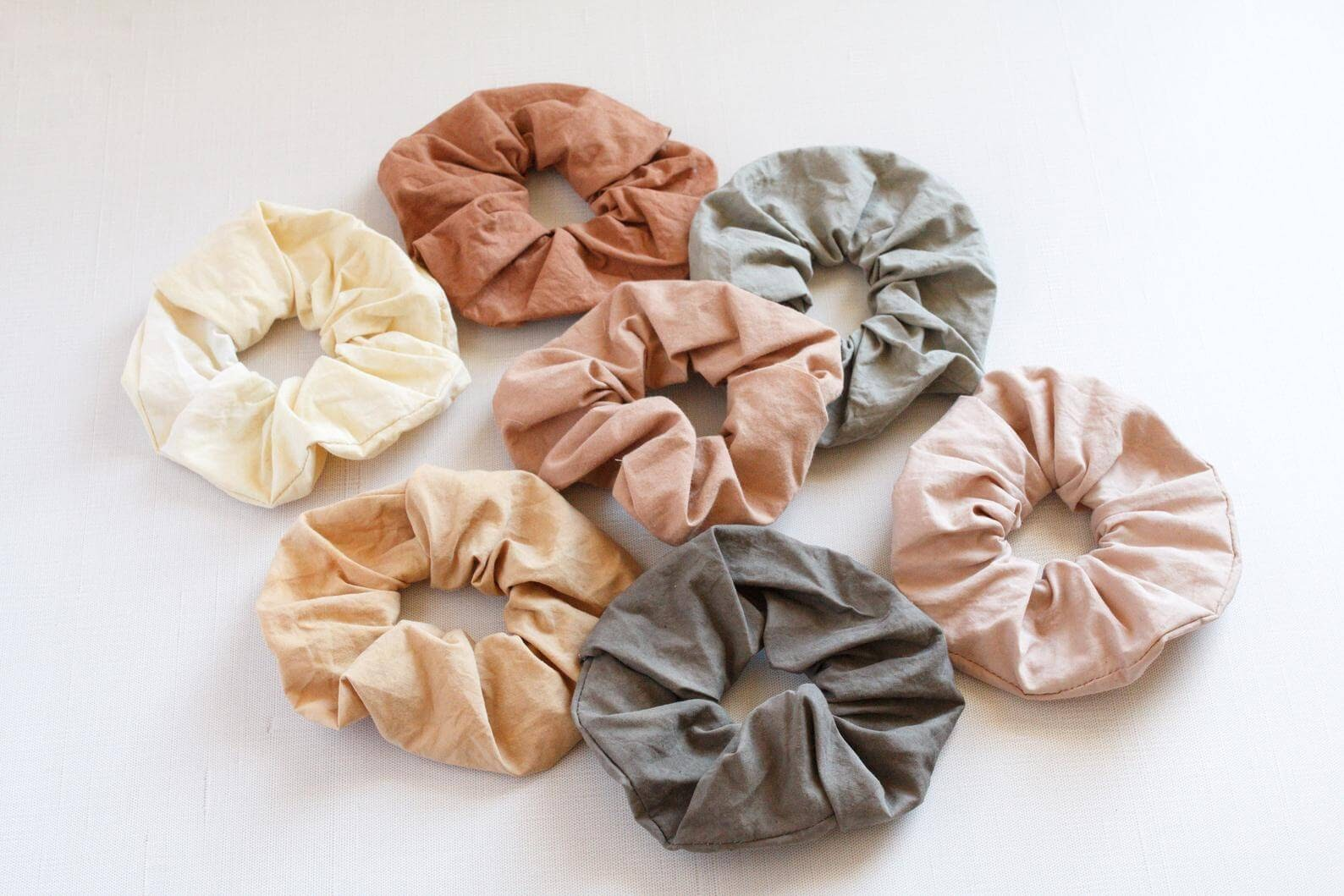 Plastic Free Scrunchies