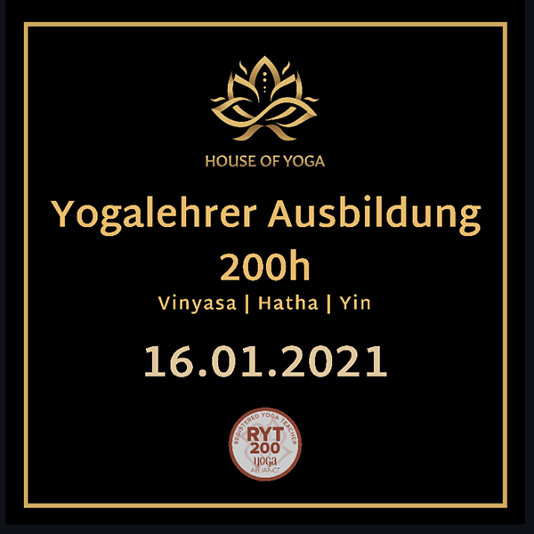 Vinyasa & Hatha & Yin 200H Yogalehrer Ausbildung