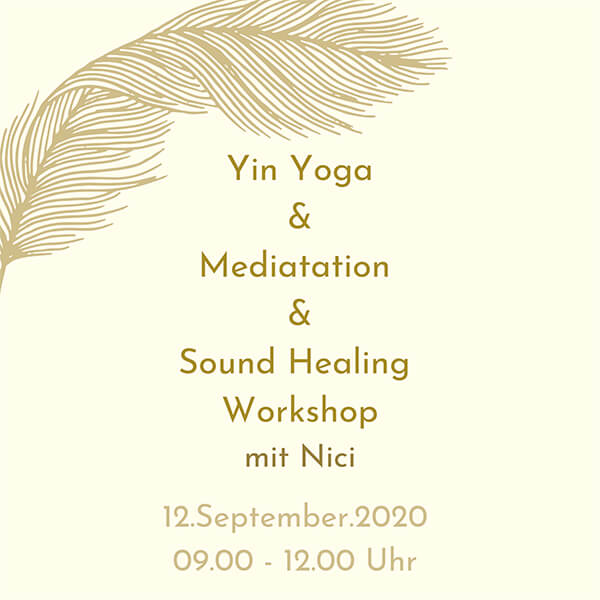 Yin Yoga & Sound Healing & Meditation