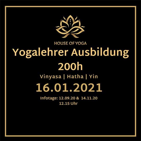 Vinyasa & Hatha & Yin 200h Yoga teacher training