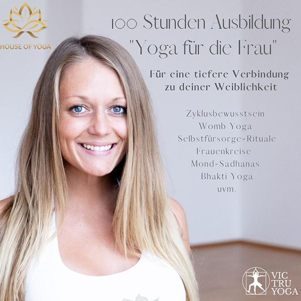 100h Yoga & Selbstfürsorge für die Frau