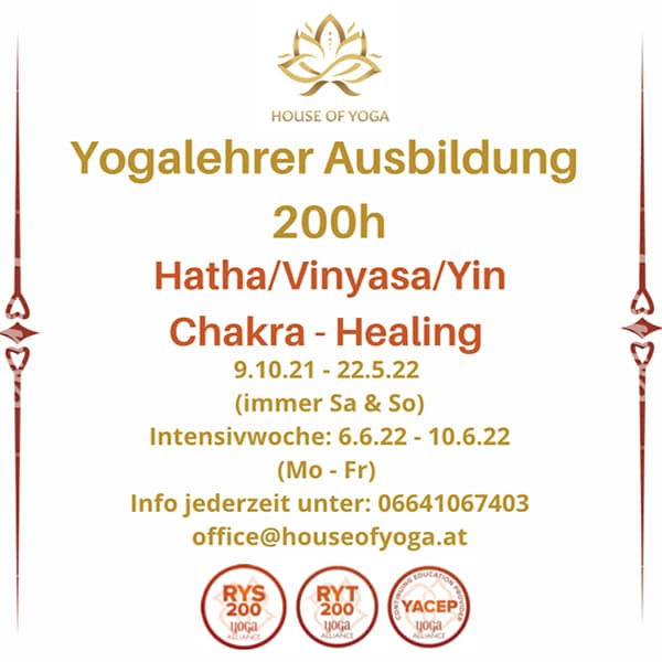 Vinyasa & Hatha & Yin 200h Yoga teacher training