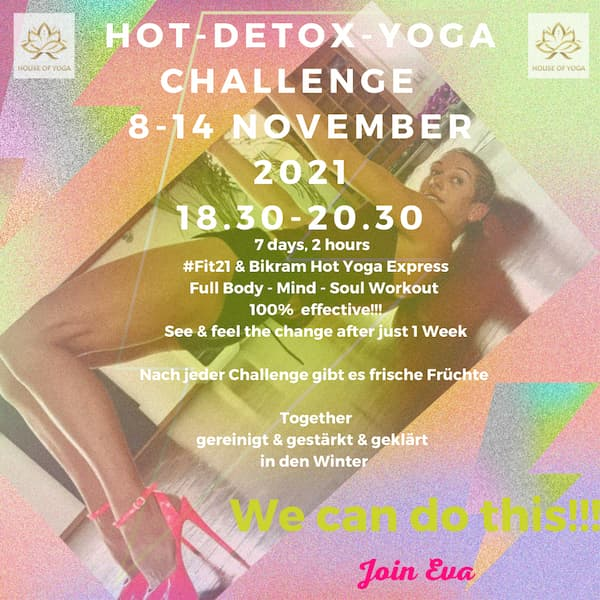 HOT-DETOX-YOGA CHALLENGE