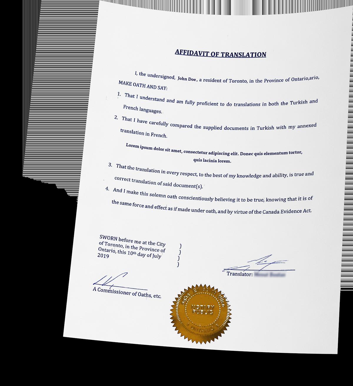 Certified Hungarian To English Translation ― Cuz Translation