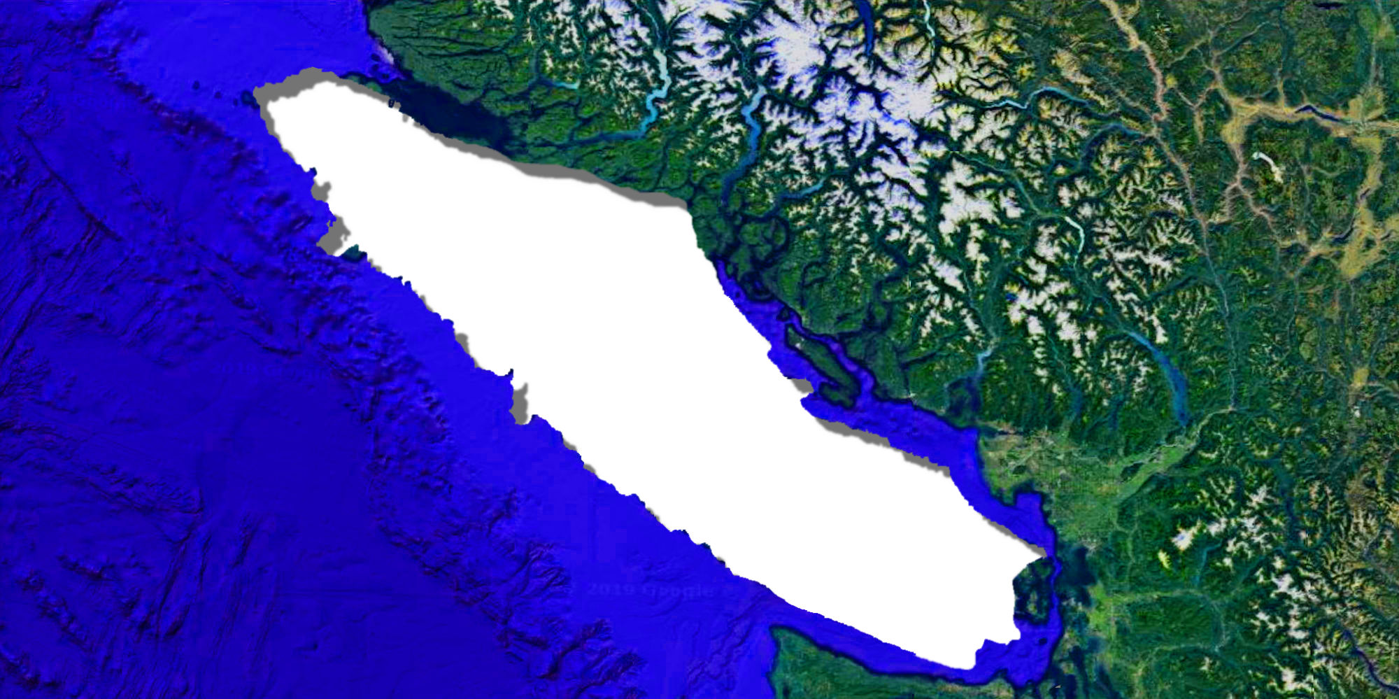 What Vancouver Island Would Look Like As An Independent Country