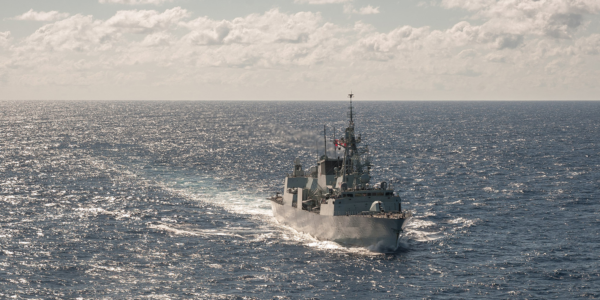 Amid BC Shutdown Orders, CFB Esquimalt Continues to Send Out Vessels