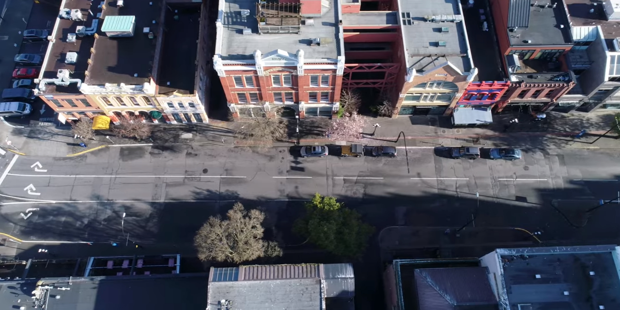 See Aerial Footage of Victoria Deserted by COVID-19