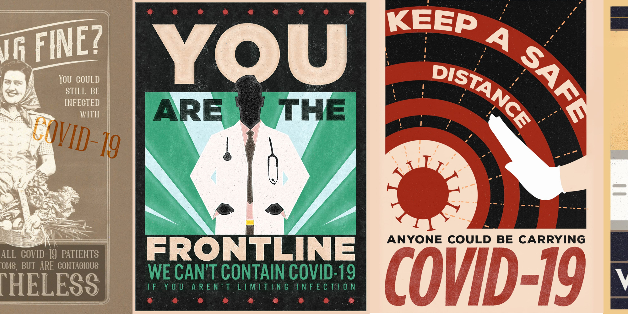 """""""Fight The Pandemic!"""" Posters to Battle COVID-19"""
