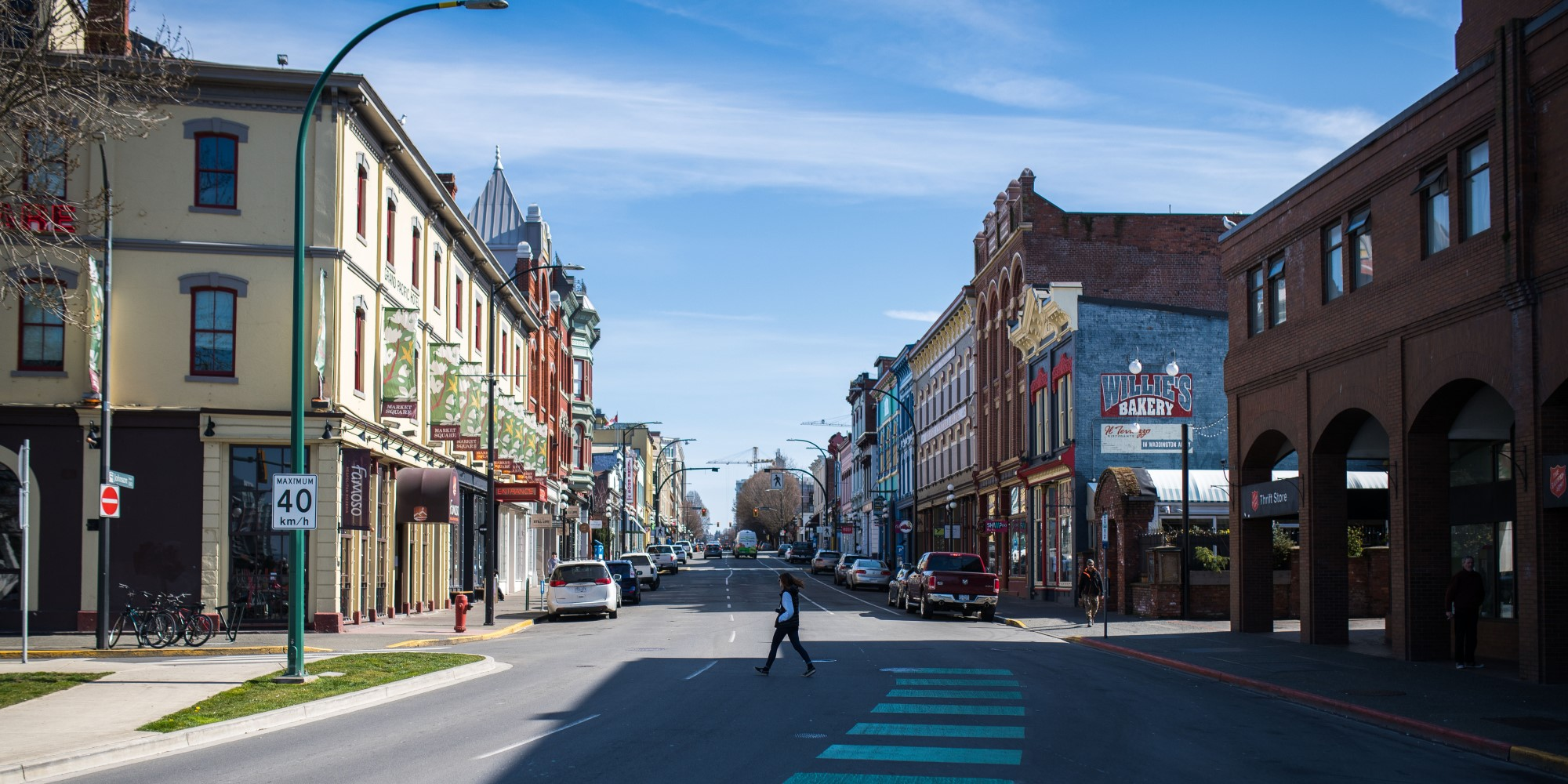 Victoria Proposes Closing Streets to Offer More Social Distancing